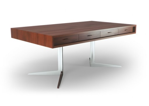 Thrive Home Furnishings Baldwin Desk (Metal)