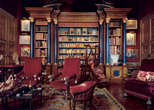 Library for Baron Alexis de Rede in the Hotel Lambert