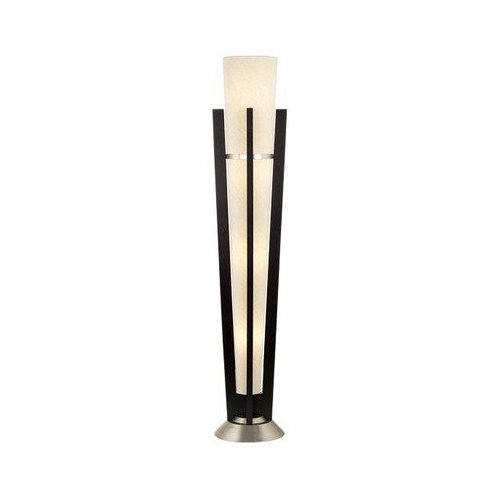 Kathy Ireland Espresso Deco Trophy Floor Lamp