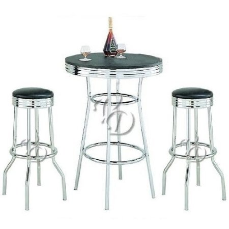 Bar Stools & Table Set