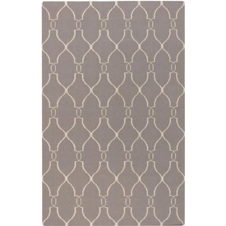 Surya Fallon Gray Ivory Geometric Contemporary 9' x 13' Rug