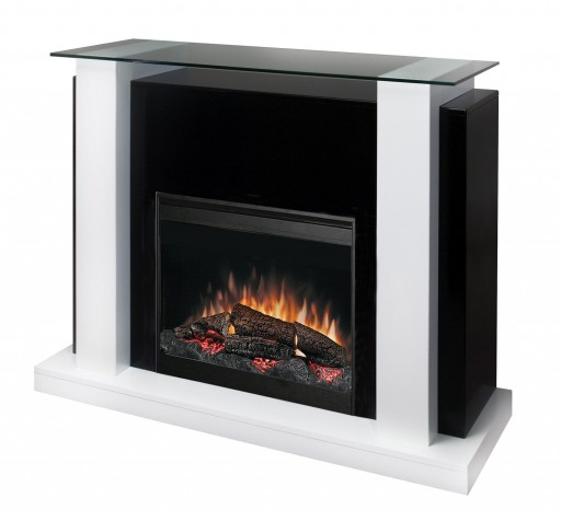 Art Deco Fireplace Mantel with Contemporary Insert ...