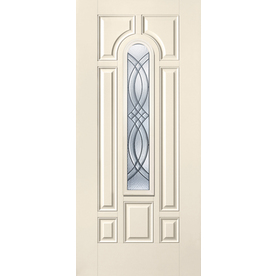 Benchmark by Therma-Tru 32-in Center Arch Lite Decorative Inswing Entry Door B28SD8CATCZRN6