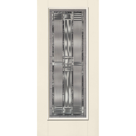 Benchmark by Therma-Tru 36-in Full Lite Decorative Outswing Entry Door B30SD8U1DTZLOB6