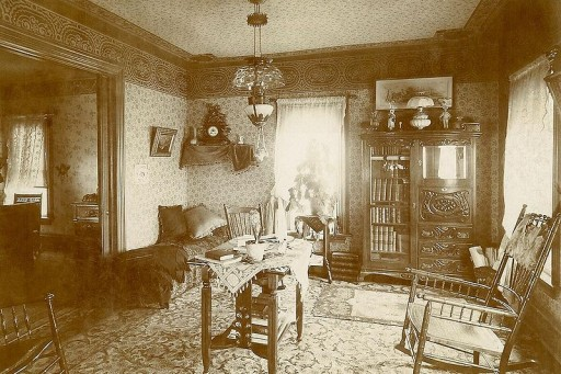 A Victorian-sytle room