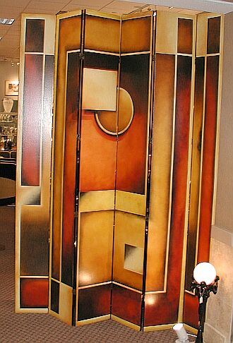 Custom Art Deco screen by Deco-Dence Art Deco