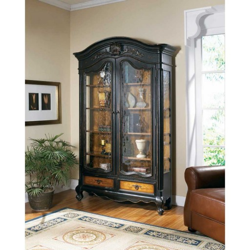 Hooker North Hampton Bonnet Display Cabinet