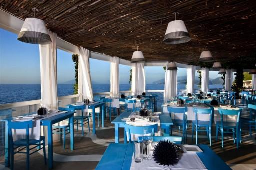 Ristorante Il Riccio in Capri, Italy. Photo courtesy of Capri Palace Hotel & Spa.
