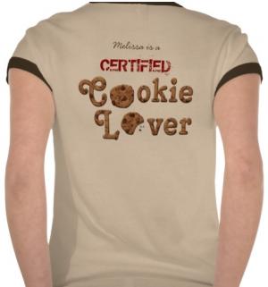 Chocolate Chip Crispy Yummy Cookies Golden Brown Tees