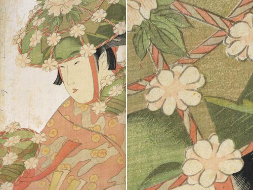Sagi-musume by Kitagawa Utamaro