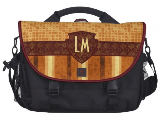 Rickshaw Commuter Laptop Bag in Amber