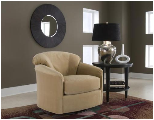 Klaussner Furniture Swivel Glide - Honey