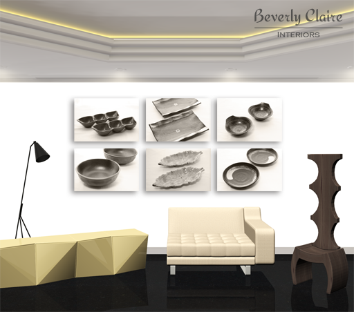 3D render of a contemporary room by Beverly Claire Kaiya