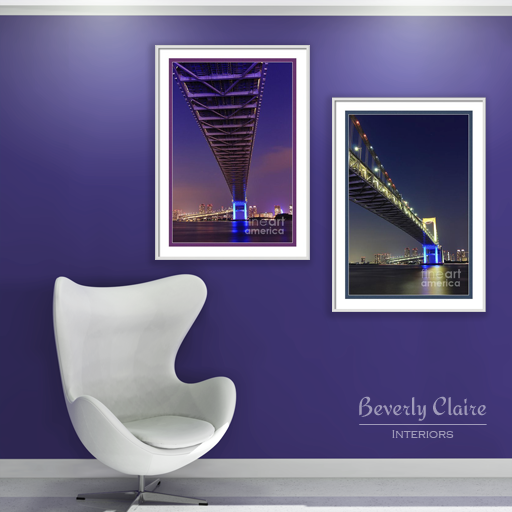 Views of Rainbow Bridge by Beverly Claire Interiors
