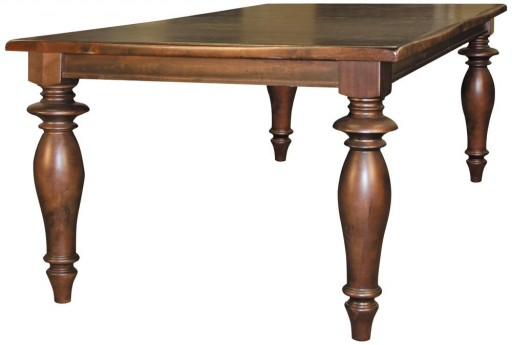 "Buster 72"" Espresso Rectangular Turned Leg Dining Table"