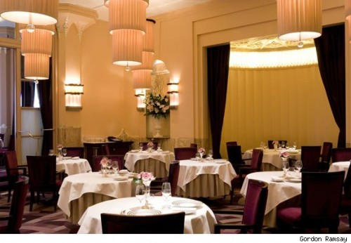 Gordon Ramsay at Claridge's in London. Photo courtesy of luxist.com