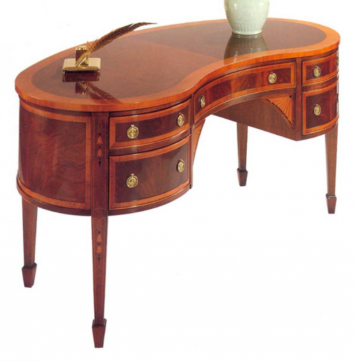 Hekman Copley Square Kidney Writing Desk