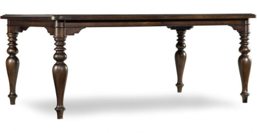 Hooker Harbour Pointe Rectangle Leg Dining Table