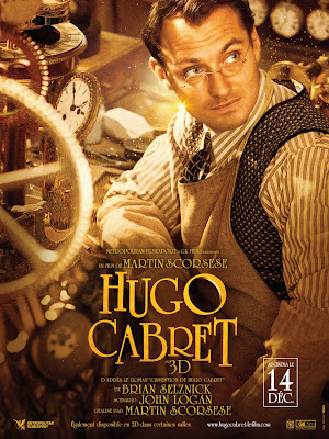 "Movie poster for the movie ""Hugo"""