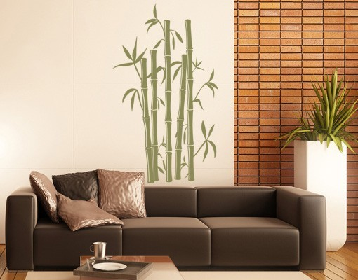 Bamboo wall decal from wallspirit.com