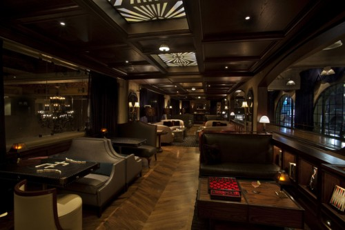 The Spare Room, on the mezzanine level of the Hollywood Roosevelt Hotel. Photo courtesy of thecoolhunter.net