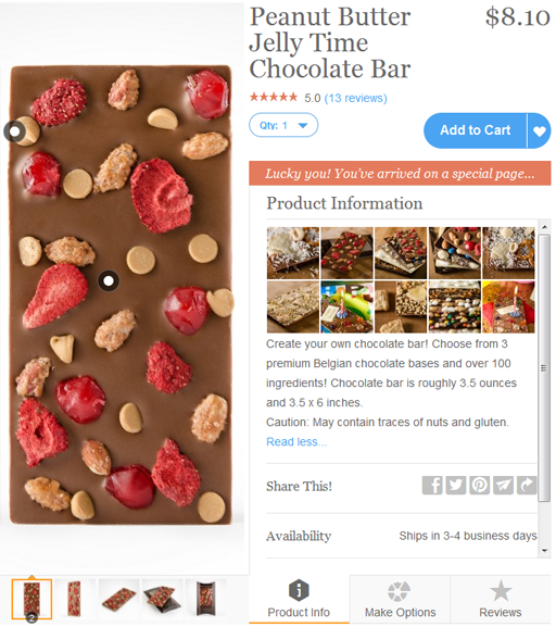 Custom Chocolate Bars by Chocomize via Zazzle